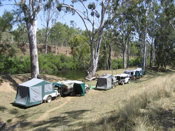Campsites suitable for camper-trailers
